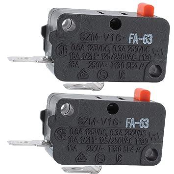 Podoy Szm V16 Interruptor de la puerta microondas para LG GE ...