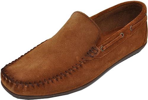 WYNDHAM - Mocasines de Otra Piel Hombre: Amazon.es: Zapatos y complementos