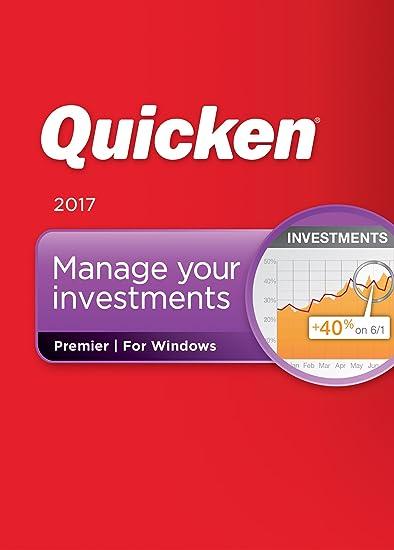 Quicken Premier 2017 Personal Finance & Budgeting Software [Old Version]