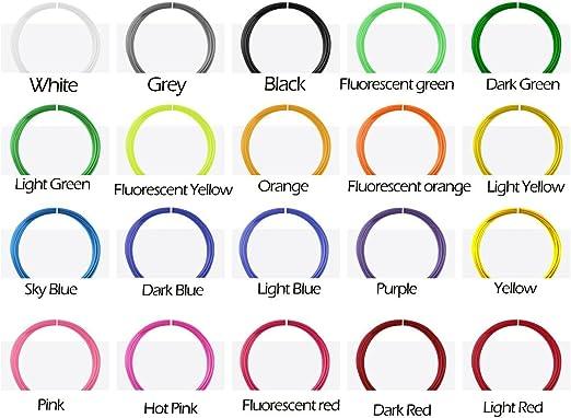 RP3DPLA620 Filamentos de Recambio para Plumas 3D, Filamentos para ...