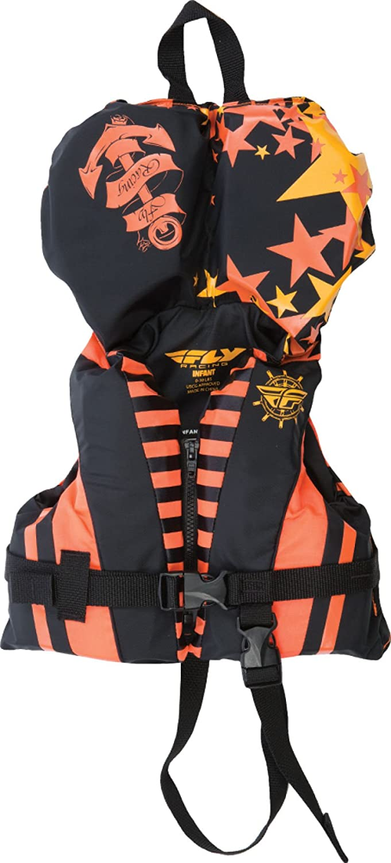 Fly Racing Unisex-Adult Nylon Vest Orange//Black Infant 221-20701