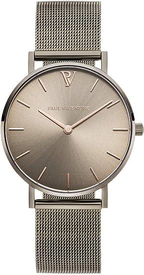 Paul Valentine ® Damenuhr Mesh Armband 32, 36 oder 38mm