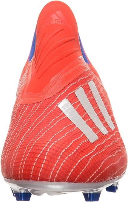 llorar Viscoso pubertad  adidas X 18+ FG Niño, Bota de fútbol, Active Red-Silver Metallic-Bold Blue,  Talla 3,5 UK (36 EUR): Amazon.es: Zapatos y complementos
