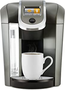 Keurig K575 Coffee Maker, Single-Serve K-Cup Pod Coffee Brewer, Programmable Brewer, Platinum