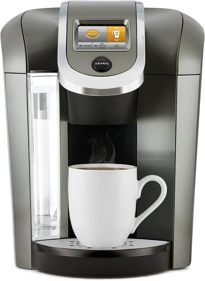 Keurig K575 Coffee Maker, Single Serve K-Cup Pod Coffee Brewer, Programmable Brewer, Platinum