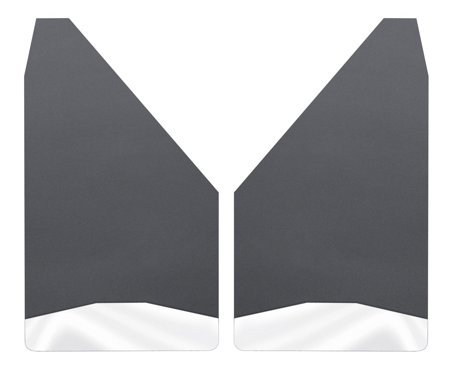 Husky Liners Universal Mud Flaps 12IN Wide - SS Wt - Universal Fitment