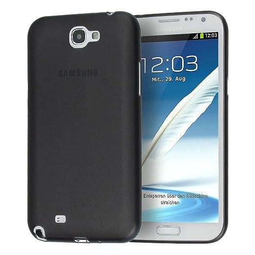 183 opinioni per doupi UltraSlim Case per Samsung Galaxy Note 2 satinato fine piuma facile Mat