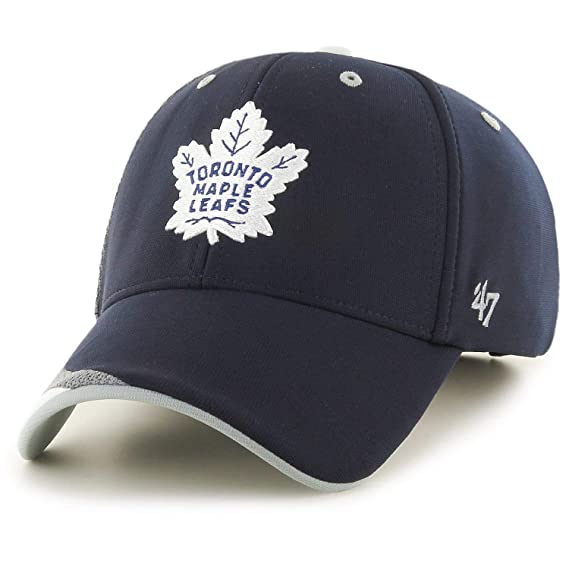47 Gorra Ajustable de la Marca Zone MVP Toronto Maple Leafs Azul ...