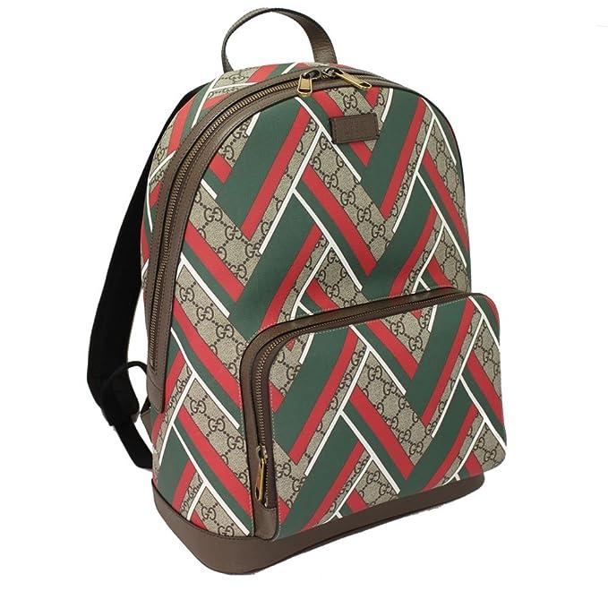 563e364ddf27 Gucci Chevron GG Supreme Backpack 406370: Amazon.ca: Clothing & Accessories