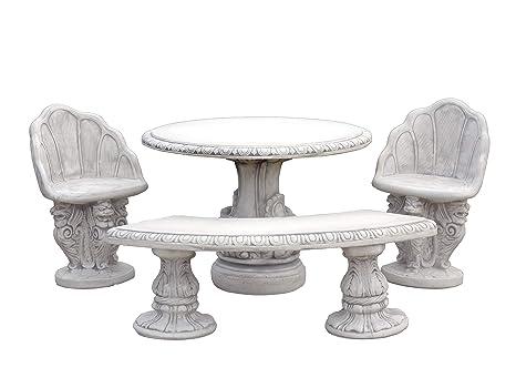 Massive Table de Jardin Meubles de Jardin Banc Chaises en ...