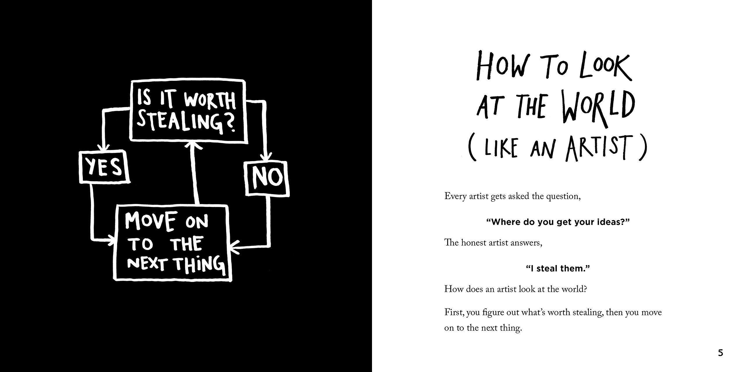 Steal Like an Artist: 10 Things Nobody Told You About Being Creative:  Austin Kleon: 8601300471914: Amazon.com: Books
