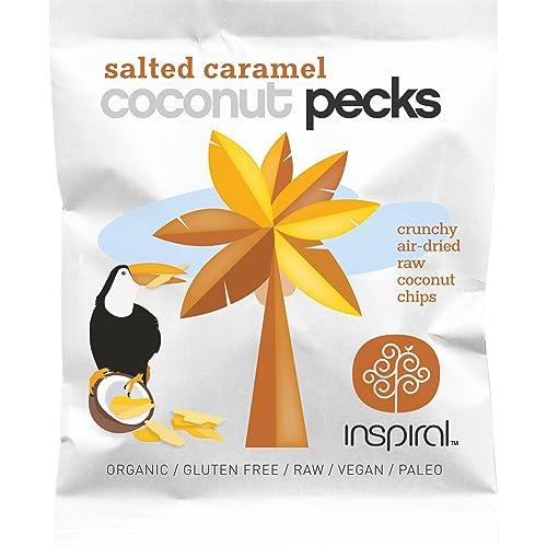 inSpiral Organic Salted Caramel Coconut Pecks, 25 g