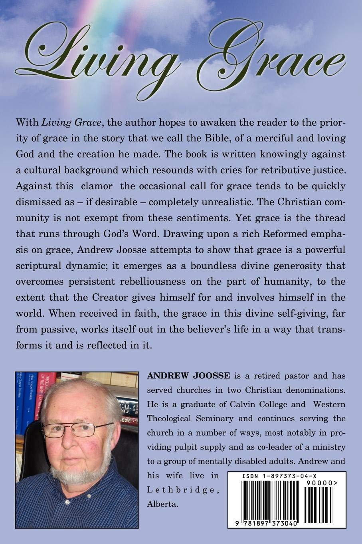 Living Grace: Andrew Joosse: 9781897373040: Books - Amazon ca