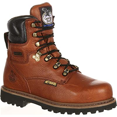 Georgia Boot Men's Hammer 8 Inch Work Shoe | Industrial & Construction Boots