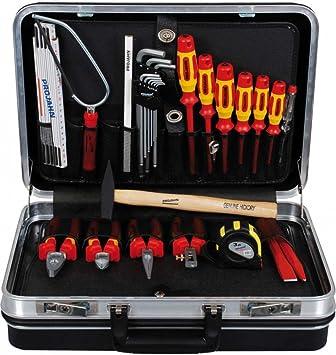 Projahn Proline 9996 - Caja de herramientas de aprendiz de electricista (27 unidades): Amazon.es: Bricolaje y herramientas