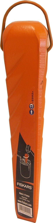 Orange geschmiedet 1000600 Fiskars Dreh-Spaltkeil Geh/ärteter Stahl F/ür Kunststoffhammer