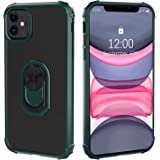 Restoo iPhone 11 Case,Protective Clear Case with [Kickstand Ring] [Soft Shock Absorbing Bumper] for iPhone 11 6.1 inch…