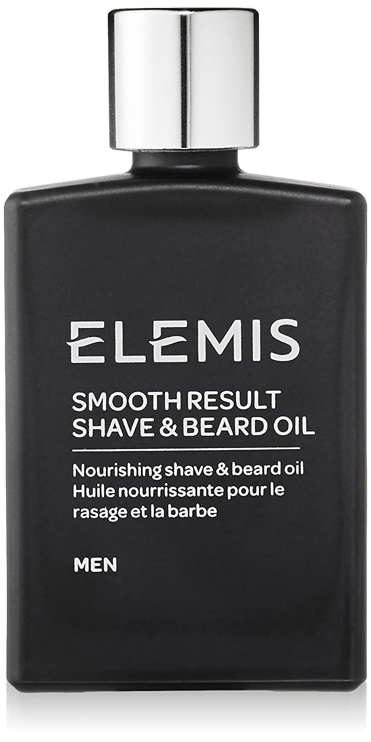 Elemis Smooth Result Shave and Beard Oil, Nourishing Shave And Beard Oil for Men, 30 ml 50212