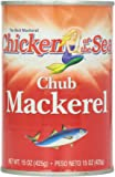 Chicken of The Sea Jack Mackerel, 15 Oz