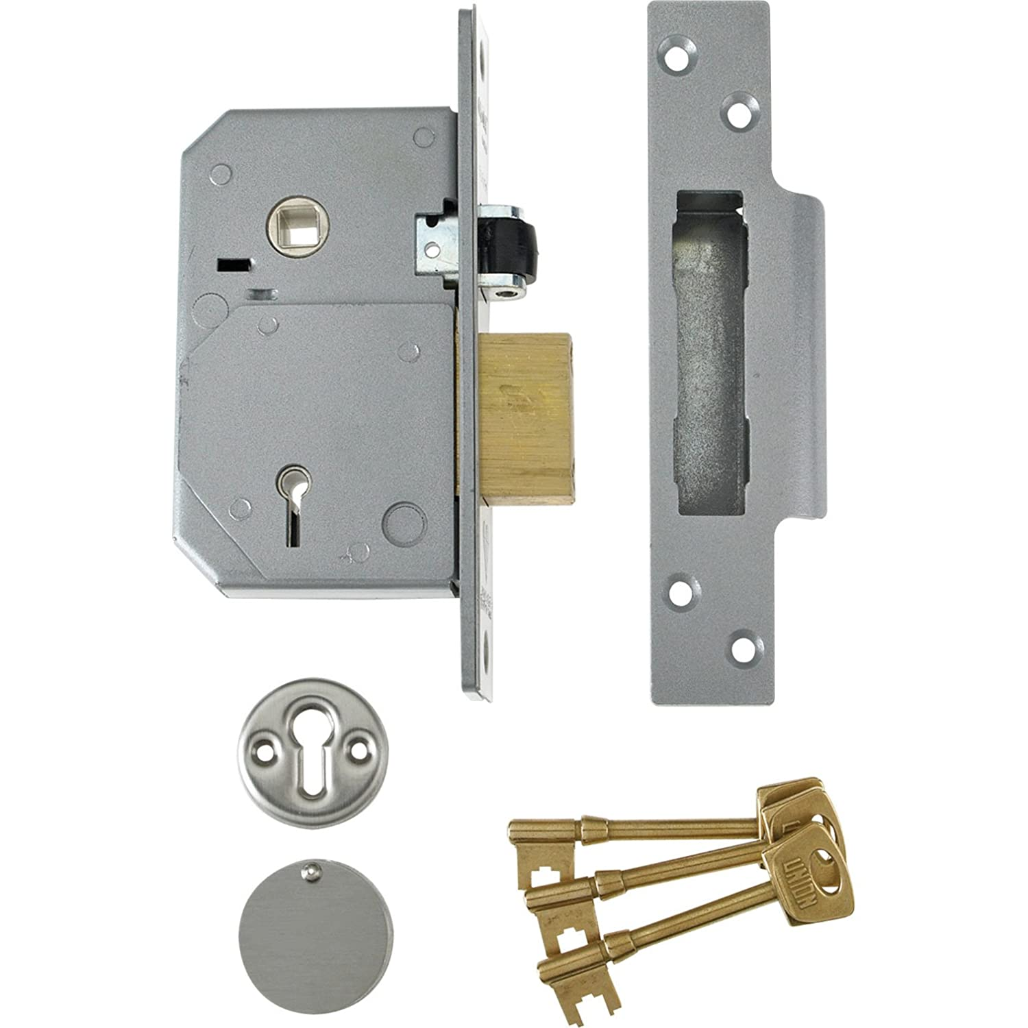 WAFU Wireless Remote Control Lock Invisible Stealthy Remote Lock The Best Anti-theft Lock with 4Keysgold^^^gold