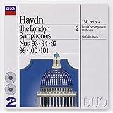 Haydn - Les symphonies londoniennes, vol. 2 : Symphonies n° 93, 94, 97, 99, 100 et 101 (Coffret 2 CD)