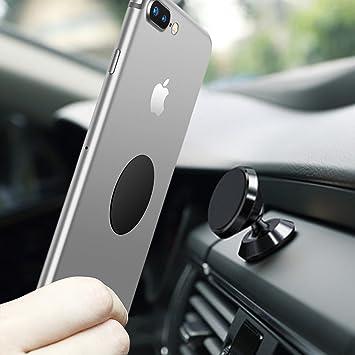 LURICO magnético Soporte para teléfono Soporte de coche salpicadero soporte para teléfono 360 ° giratorio Sticky