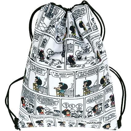Mochila-Saco Mafalda Comic: Amazon.es: Equipaje