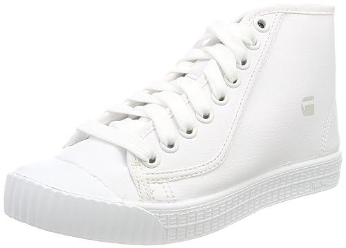 G-STAR RAW Rovulc Mid Wmn, Zapatillas para Mujer: Amazon.es: Zapatos y complementos