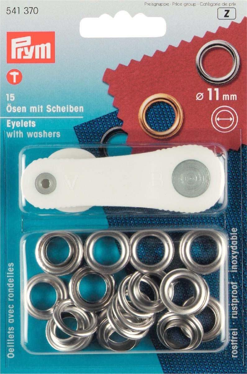 Brunner Occhielli con rondelle ottone 11 mm oro