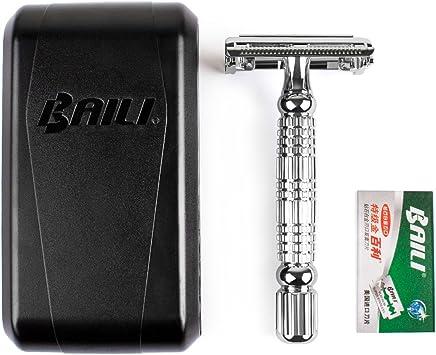Baili – Afeitadora de seguridad, 1 afeitadora + 1 cuchilla de ...