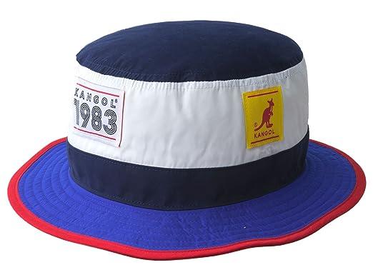 ee7ed46326ae7 Kangol Men s Bucket Hat 1983 Hero Bucket - Blue  Amazon.co.uk  Clothing