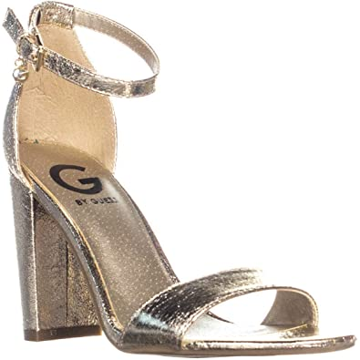 4a80616c010 G by GUESS Womens Shantel3 Open Toe Special Occasion