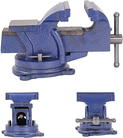 """6/"""" 150mm Work Bench Vice Vise Workshop Clamp Engineer Jaw Swivel Base Heavy Duty"""