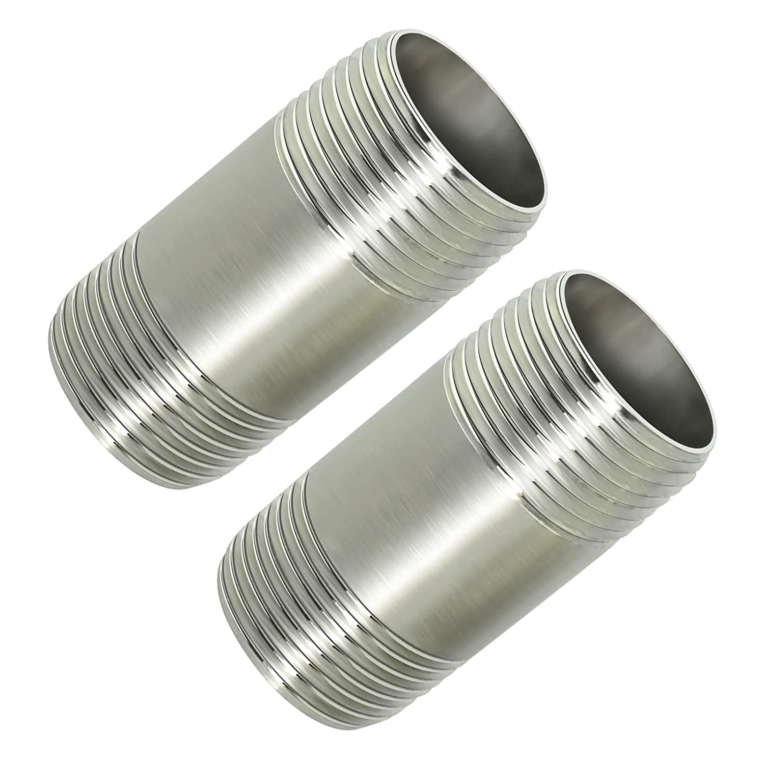 Taisher 2Pcs Stainless Steel Pipe Fittings, 3/4