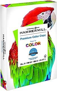 product image for Hammermill Paper, Premium Color Copy Paper, 11 x 17 Paper, Ledger Size, 28lb Paper, 100 Bright, 1 Ream / 500 Sheets (102541R) Acid Free Paper - 4 Pack