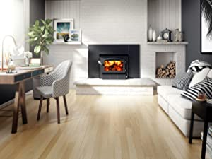 Drolet Escape 1500-I Wood Insert with faceplate - High-Efficiency - EPA 2020 Certified DB03137