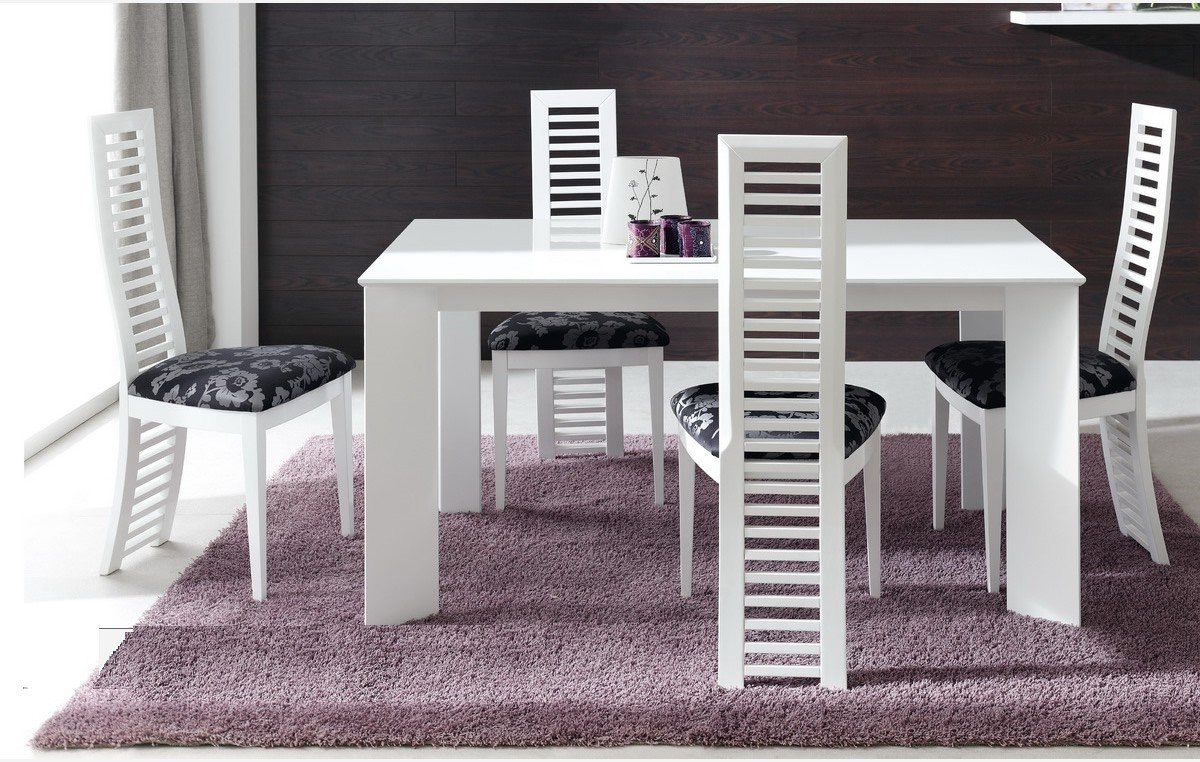 Best Table A Manger Blanche Laquee Ideas - Awesome Interior Home ...