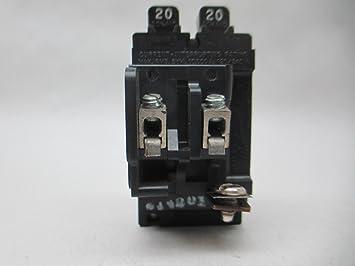 ITE PUSHMATIC 20 AMP CIRCUIT BREAKER 120//240 VAC 2 POLE P220