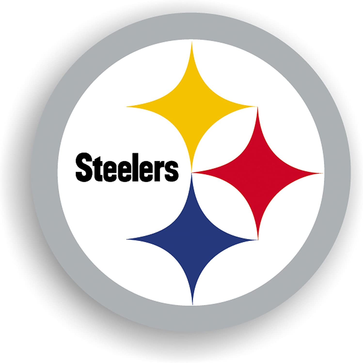 Amazon.com : NFL Pittsburgh Steelers 12-Inch Vinyl Logo Magnet : Sports Fan  Automotive Magnets : Sports & Outdoors