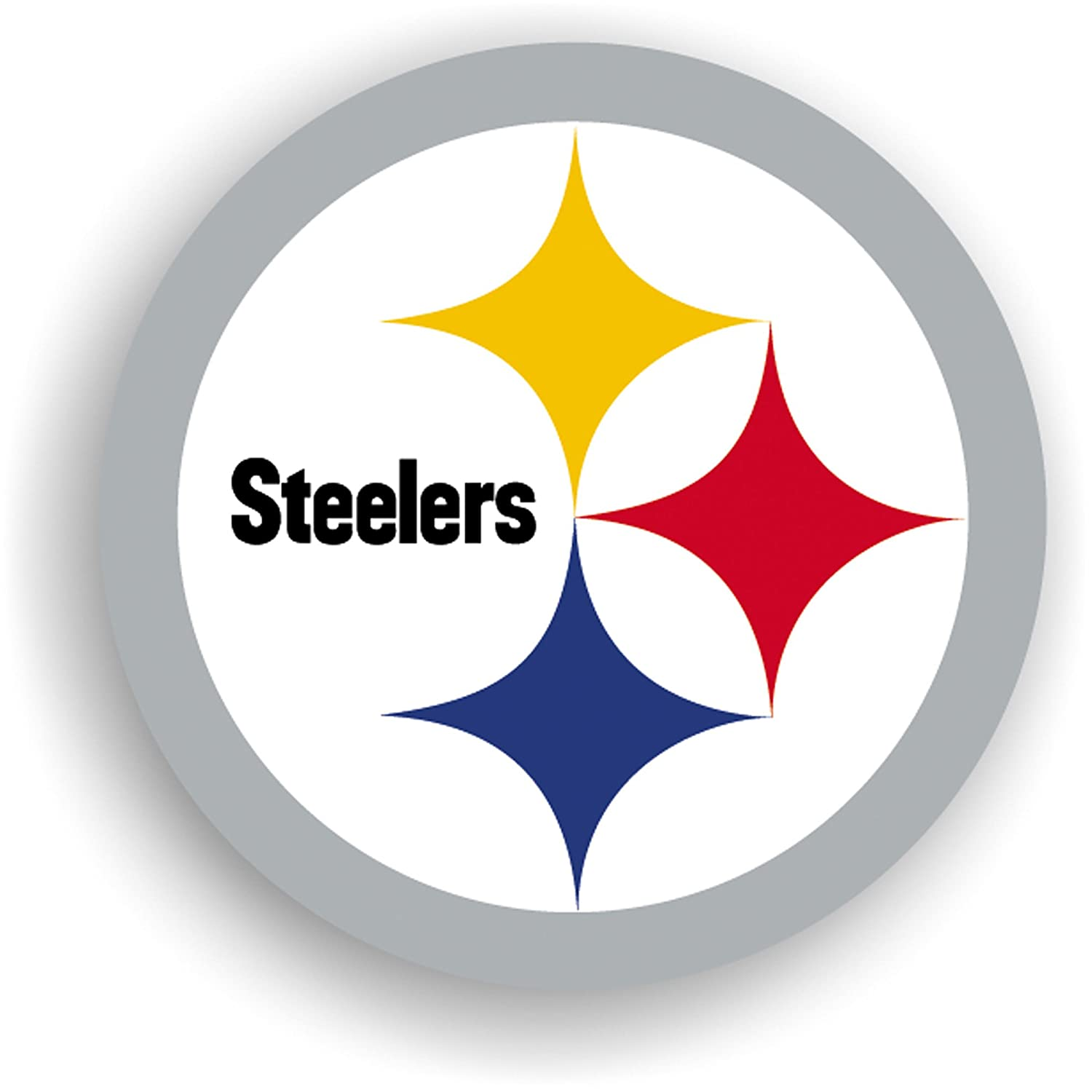 Amazon.com : NFL Pittsburgh Steelers 12 Inch Vinyl Logo Magnet : Sports Fan  Automotive Magnets : Sports U0026 Outdoors