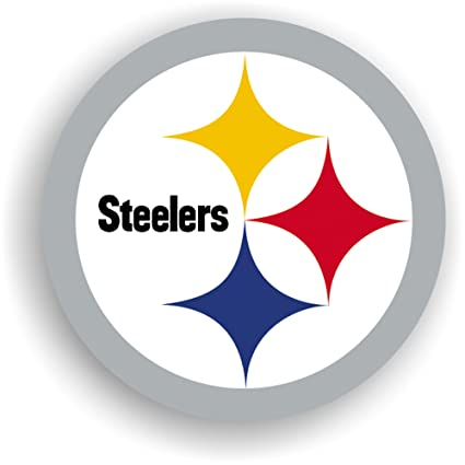 Amazon Nfl Pittsburgh Steelers 12 Inch Vinyl Logo Magnet
