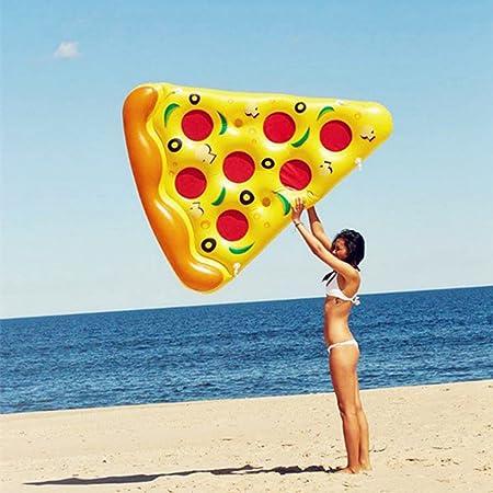 Pizza Inflable Parche Verano Cama Inflable Adulto Natación ...