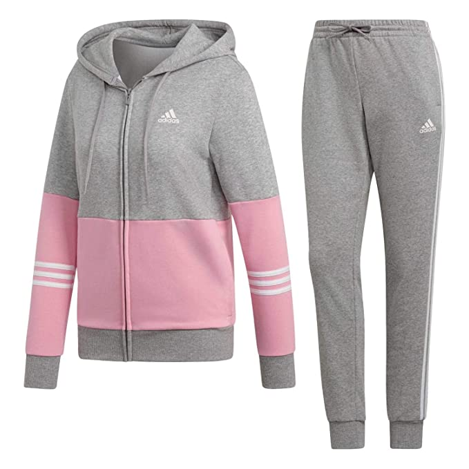 adidas Performance Damen Trainingsanzug grau M