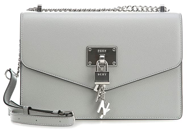 Image Unavailable. Image not available for. Colour  DKNY Elissa Shoulder bag  grey cab80e0709f0f