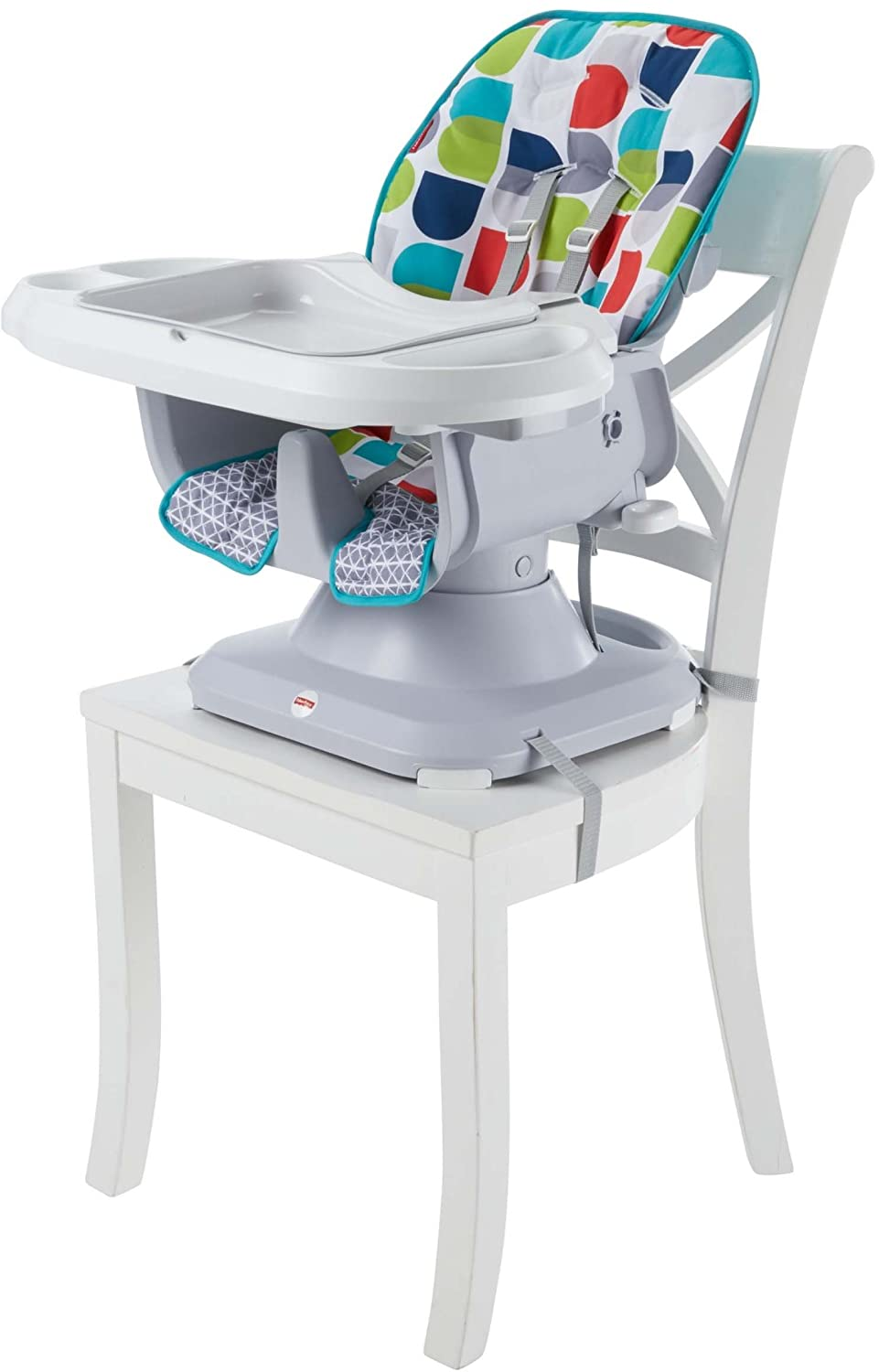 Fisher-Price Space Saver High Chair, Multicolor FTL90