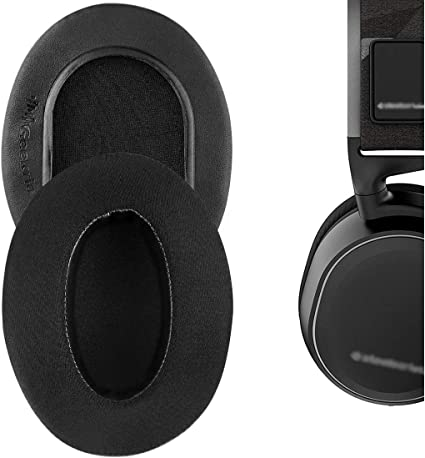 Amazon Com Geekria Sport Cooling Gel Ear Pads For Steelseries Arctis 3 Arctis 5 Arctis 7 Arctis 9x Arctis Pro Headphone Ear Pad Ear Cushion Ear Cups Ear Cover Extra Thick Black Home Audio Theater