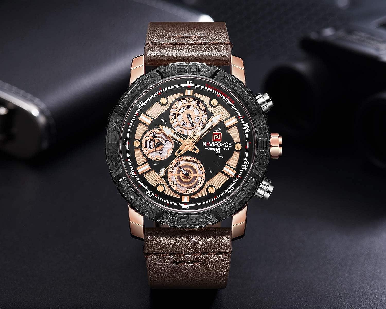 Amazon com: Beauty7 Men Modern Casual Quartz Analog Wrist