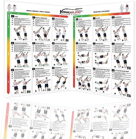 Tabla ejercicios trx