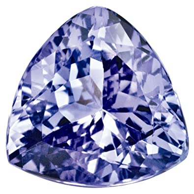 Amazon com: Goldia Loose Tanzanite Gemstone 4mm Trillion AA