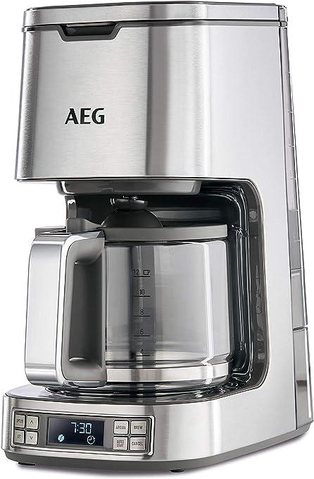 Aeg 7 Series Digital Filter Coffee Machine 1100 W Stainless Steel